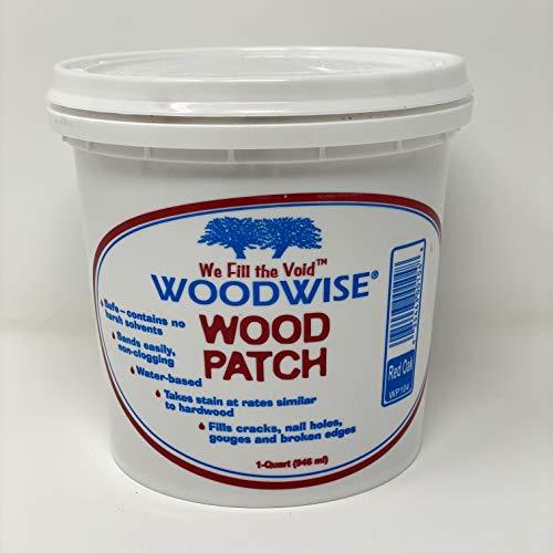 Woodwise Red Oak Wood Patch Filler - Quart