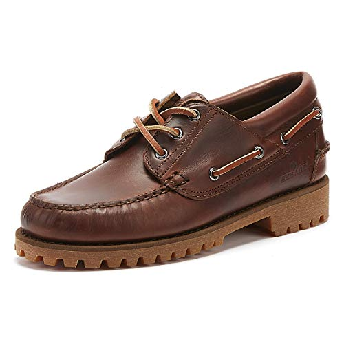 Sebago Men's 70015M0 Loafer Flats Brown Size: 8 UK