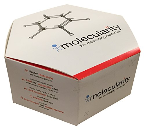 Organic Chemistry Student Molecular Model Kit by Molecularity 200 + Pieces
