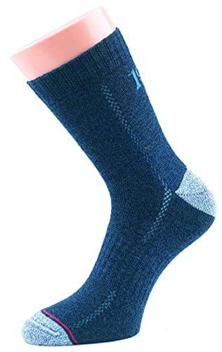 1000 Mile Herren Walking 1950 All Terrain Socks Granit, Blau, 44/46