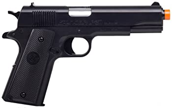 GameFace ASP311B Stinger P311B Spring-Powered Single-Shot Military-Style Airsoft Pistol Black