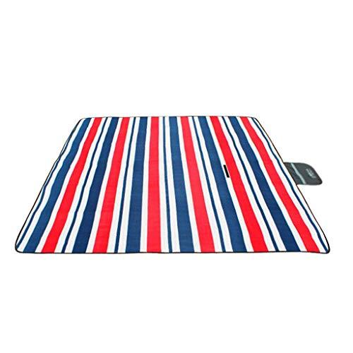 Zixin Outdoor Picnic Mat Thick Waterproof Picnic Mat Lawn Tent Picnic Cloth (Color : D, Size : L) (Color : B, Size : Medium)