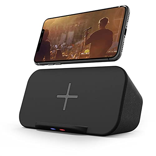 Bluetooth Speaker with Wireless Charger Stand,...