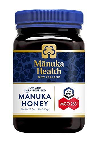 Manuka Health - Manuka Honing MGO 250 + 500 g - 100% puur uit Nieuw-Zeeland met gecertificeerd methylglyoxal-gehalte