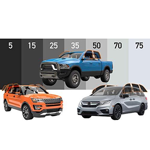 MotoShield Pro - Premium Precut Ceramic Window Tint for Truck, SUV, Mini Van (Superior Heat Control/Blocks 99% UV) 2mil - All Side Windows