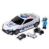 Police Vehicle Storage Toy - Police Car Carrier Toy for...