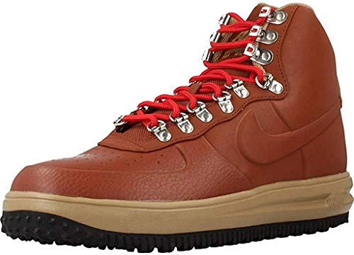 Nike Men's Lunar Force 1 Duckboot '18 Boots (9 UK) Brown