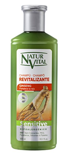 NaturVital Champú Sensitive Revitalizante - 300 ml