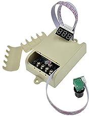 Yongenee Controlador PWM Digital de Velocidad del Motor 20A Shell Control del Motor 12V24V36V48V Sin Escala Cambio de Velocidad Herramientas industriales
