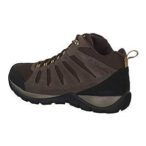 Columbia Men's Redmond V2 MID Waterproof Hiking Shoe, Cordovan, Baker, 10 Wide US