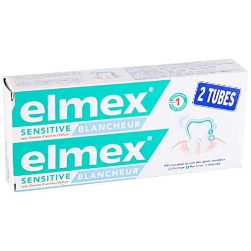 Dentrifrice elmex Sensitive Blancheur,...