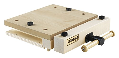 Sjobergs SJO-33274 Woodworking Portable Smart Vice with Superior Clamping Power Wherever You Need It