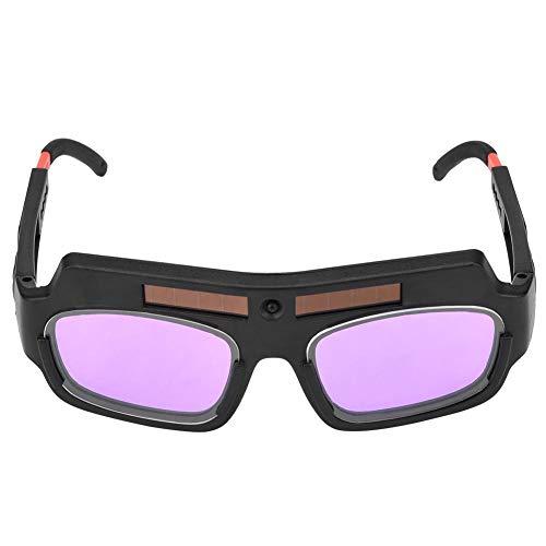 Gafas de soldar, Gafas de soldar con oscurecimiento automático solar, Gafas de soldar protectoras, Gafas de soldar protectoras Gafas para soldadura por arco de argón, Pantalla de atenuación