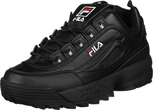 Fila Disruptor Low, Zapatillas para Hombre, Negro (Black/Black 12V), 47 EU