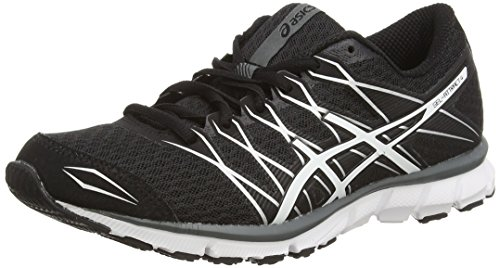 ASICS Damen Gel-Attract 4 Laufschuhe, Schwarz (Black/White/Charcoal 9001), 38 EU