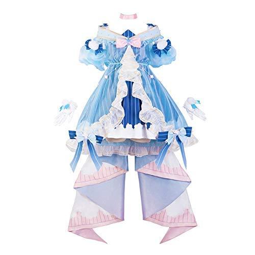 Hatsune Miku Cosplay Winter miku Lolita Kleid Karneval Halloween-Kostüm weibliche Anime hochwertige Trachtenmode Perücke S Kleidung WTZ012