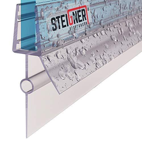 STEIGNER Duschdichtung, 70cm, Glasstärke 5/6 mm, Gerade PVC Ersatzdichtung für Dusche, UK22-06