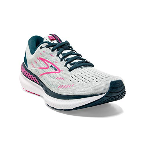Brooks Glycerin GTS 19, Zapatillas para Correr Mujer, Ice Flow Navy Pink, 40.5 EU
