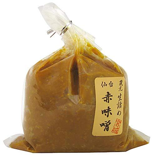 仙台味噌醤油 仙台 赤味噌 500g 6個セット