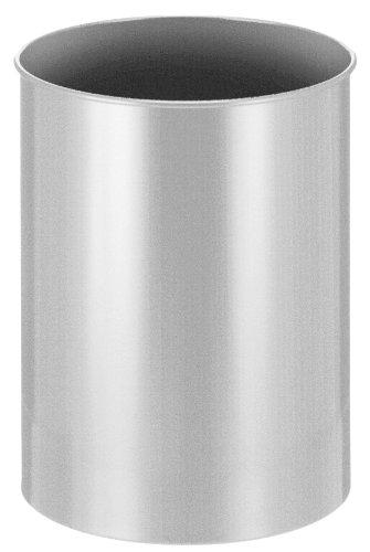 V-Part Poubelle 30 litres-Métal argenté 30 litres