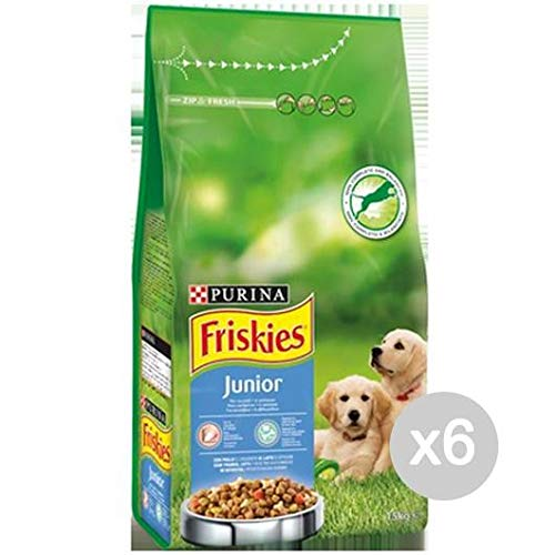 Set 6 FRISKIES Dog Kroketten 1,5 Kg Junior Food For Dogs