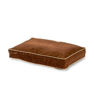 Happy Hounds Buster Dog Bed, 30 by 42-Inch Medium, Chocolate