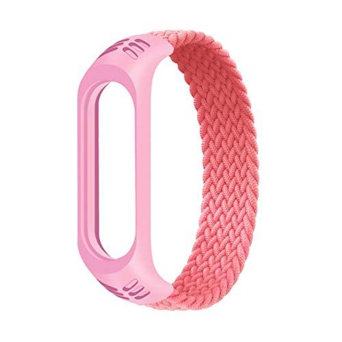 Relojes de pulsera de cuarzo, pulsera de repuesto para Xiaomi Mi Band 3/4/5, pulsera de reloj de negocios