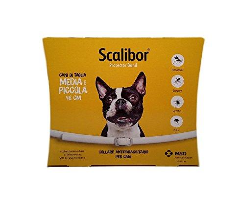 Scalibor Collare Antiparassitario Per Cani di Taglia Piccola e Media 48 cm