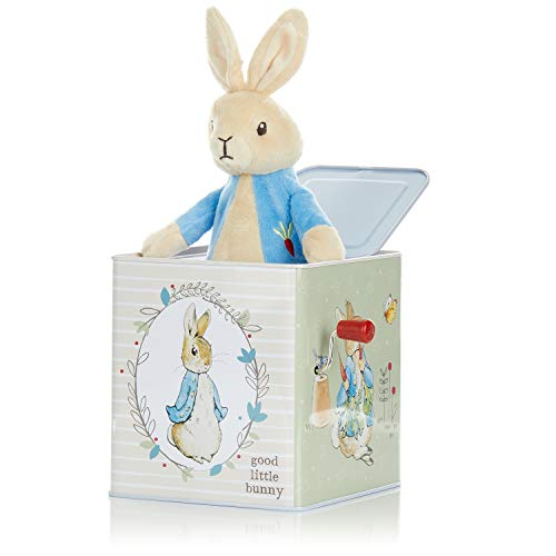 KIDS PREFERRED Beatrix Potter Peter Rabbit Jack-in-The-Box, Multi-Colored, Standard