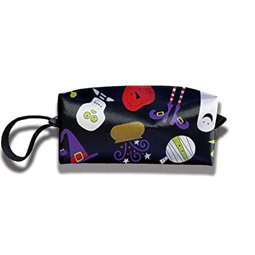 TRFashion Toiletry Bag Night Quite A Fright BlackStorage Bag Beauty Case Wallet Cosmetic Bags Sac de Rangement Trousse de Toilette