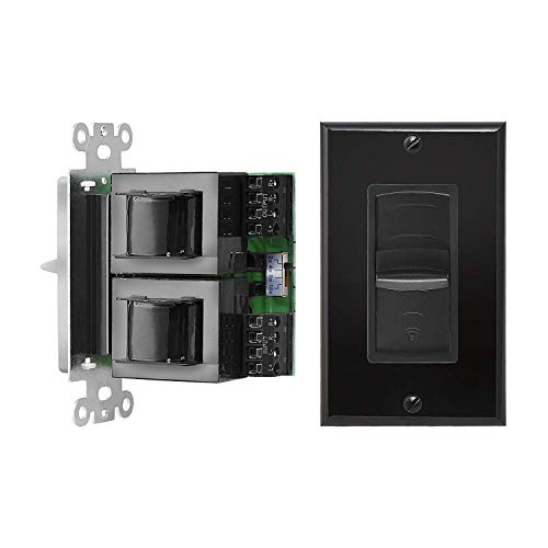 OSD Audio 300W in-Wall Home Theater Speaker – Black Volume Control Switch - VMS300