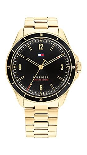 Tommy Hilfiger Reloj analógico para Hombre de Cuarzo con Correa en Acero Inoxidable 1791903