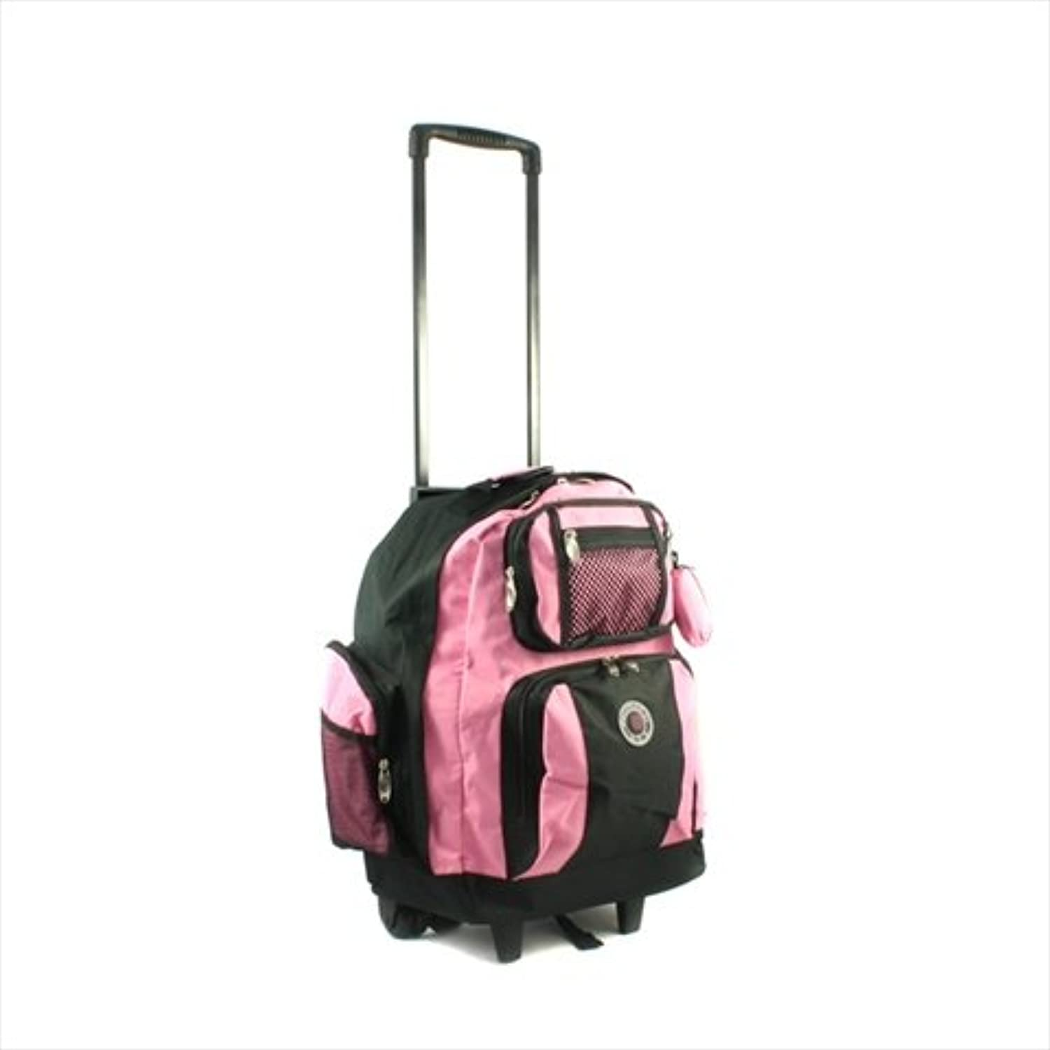 Transworld RollAway Deluxe Rolling Backpack  Pink