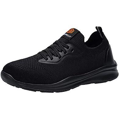 DYKHMILY Impermeable Zapatillas de Seguridad Mujer Ligeras Zapatos de Seguridad Trabajo Punta de Acero Calzado de Seguridad Deportivo a buen precio