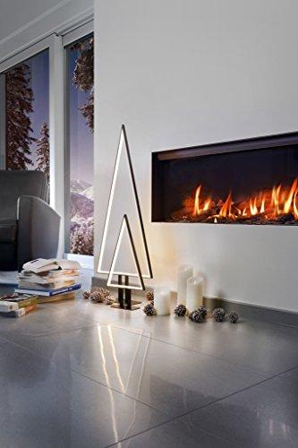 Sompex Designleuchte/LED Weihnachtsbaum Tischleuchte Pine, schwarz, Höhe 50cm