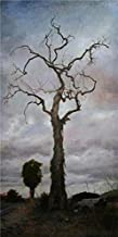 Oil Painting 'a Dry Tree', 30 x 60 inch / 76 x 153 cm , on High Definition HD canvas prints is for Gifts And Basement, Game Room And Living Room Decoration, prints on