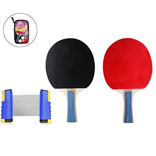 Juego De Tenis De Mesa Retráctil, Juego De Ping Pong De Mesa con Red Retráctil Niños Adultos Artículos Deportivos Gimnasio En Casa Al Aire Libre