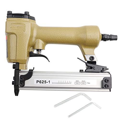 P625-1 clavadora neumática de pasador de aire 10-25mm pistola de clavos neumática 60-100psi grapadora de aire para clavo de grano 100 piezas clavadora de aire