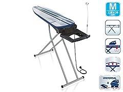 Table de plénitude Air Active Express M pour repassage rapide, planche à repasser sans pliage, planche à repasser pour plateaux de repassage à vapeur pour le linge lisse