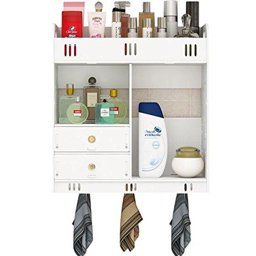 DZX Badkamer Dressoir Toilet Tafelplank Gratis Boren Kunststof Planken Warm Mooie Mode Lockers