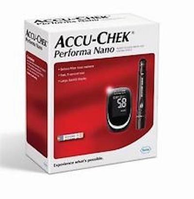 Accu Chek Performa Nano Monitoring System by Accu
