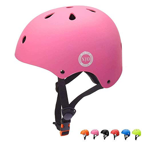 XJD Kids Helmet Age 3 Toddler Bike Helmet CE EN Certification Skateboard Helmet Kids Impact Resistance Ventilation for Bicycle Scooter Rollerskate Skateboard Age 3-13 Years Old Boys Girls