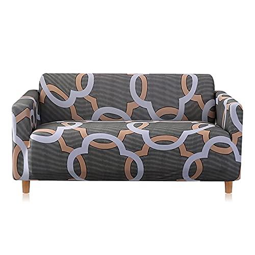 ASCV Funda de sofá elástica Fundas con Todo Incluido Funda de sofá elástica para Silla de sofá de Diferentes Formas Funda de sofá Estilo L A3 1 Plaza