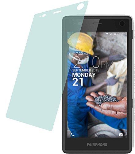 4ProTec I 2X ANTIREFLEX matt Schutzfolie für Fairphone 2 (2015) Premium Bildschirmschutzfolie Displayschutzfolie Schutzhülle Bildschirmschutz Bildschirmfolie Folie