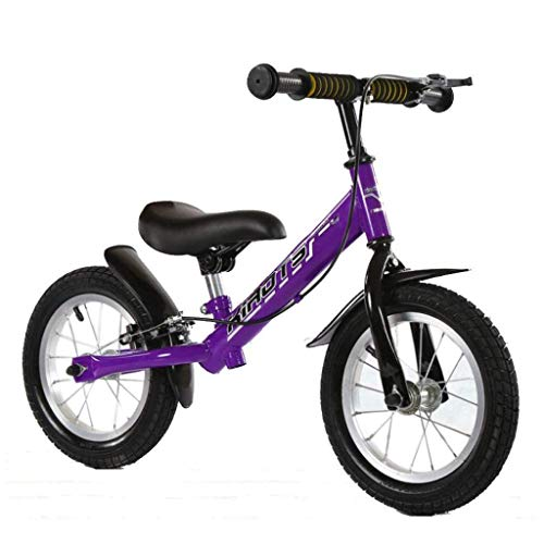 Biciclette senza pedali Il primo regalo in bici per bambini dai 2 3 4 5 6 anni con pneumatici antiscivolo per freni, bicicletta da allenamento senza pedali, cuscini e pneumatici comodi e confortevoli