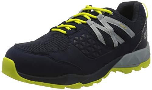 Jack Wolfskin Herren Cascade Hike Texapore Low M Walking-Schuh, Dark Blue/Lime, 47 EU