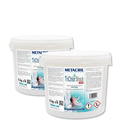 Metacril TriChlor Shock Tab 10 kg (5 + 5) - Cloro trricloro...