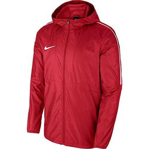 Nike Giacca in Nylon Park 18 RN Jkt Junior Vento, Rosso_Bianco, XS Bambino