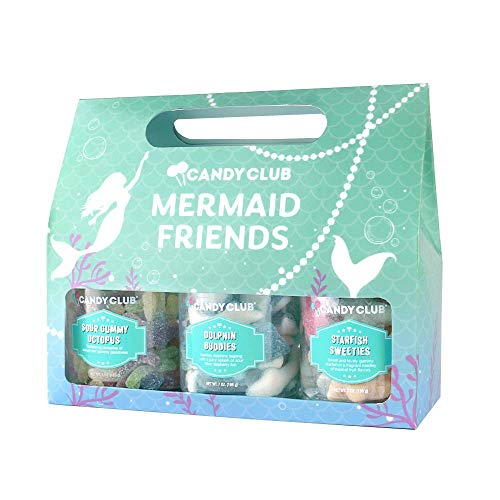 Candy Club, Mermaid Friends Collection, Candies and Gummies Gift Pack...