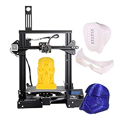 Creality 3D Ender-3 3D Printer DIY Easy-assemble 220 * 220 * 250mm Printing Size with Resume Printing Support PLA, ABS, TPU (Ender-3 Pro)